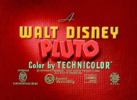 Screenshots from the 1950 Disney cartoon Puss Cafe