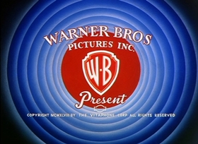 Screenshots from the 1950 Warner Brothers cartoon Boobs in the Woods