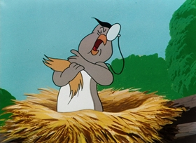 Screenshots from the 1950 Warner Brothers cartoon Strife With Father