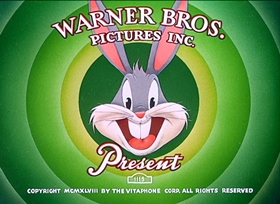 Screenshots from the 1950 Warner Bros. cartoon Big House Bunny
