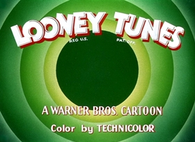 Screenshots from the 1950 Warner Brothers cartoon What