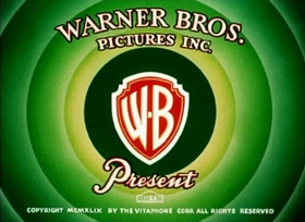 Screenshots from the 1950 Warner Brothers cartoon It