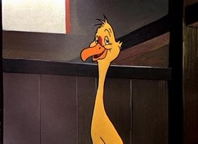 Screenshots from the 1950 Warner Brothers cartoon Golden Yeggs