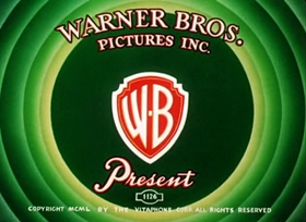 Screenshots from the 1950 Warner Brothers cartoon Dog Gone South
