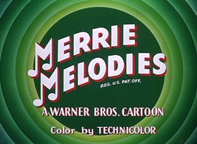 Screenshots from the 1950 Warner Brothers cartoon Bunker Hill Bunny