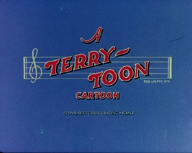 Screenshots from the 1951 Terrytoons cartoon
