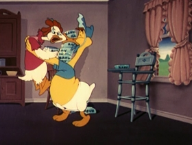 Screenshots from the 1951 Paramount / Famous Studios cartoon Scout Fellow