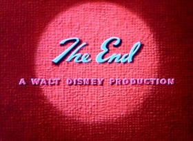 Screenshots from the 1951 Disney cartoon Lion Down