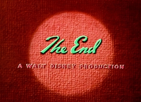 Screenshots from the 1951 Disney cartoon Cold Storage
