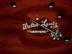 Screenshots from the 1951 Walter Lantz cartoon Sleep Happy