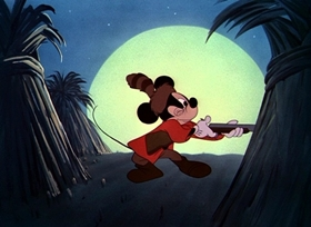 Screenshots from the 1951 Disney cartoon R