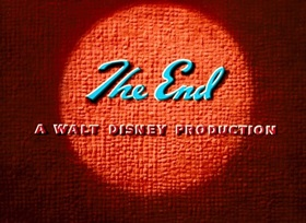 Screenshots from the 1951 Disney cartoon Bee on Guard