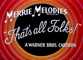 Screenshots from the 1951 Warner Brothers cartoon Hare We Go