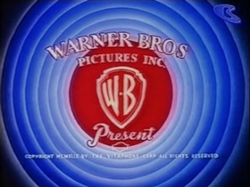 Screenshots from the 1951 Warner Brothers cartoon A Fox in a Fix