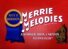 Screenshots from the 1951 Warner Bros. cartoon Putty Tat Trouble