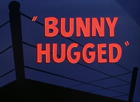 Screenshots from the 1951 Warner Brothers cartoon Bunny Hugged