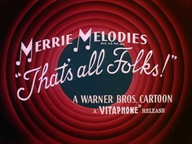 Screenshots from the 1951 Warner Bros. cartoon A Hound for Trouble