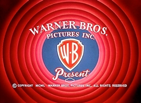 Screenshots from the 1951 Warner Bros. cartoon The Wearing of the Grin
