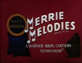 Screenshots from the 1951 Warner Brothers cartoon His Hare Raising Tale