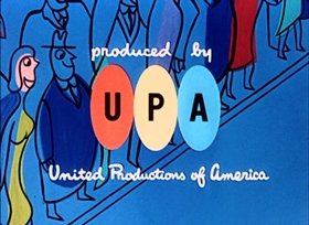 Screenshots from the 1951 UPA cartoon Gerald McBoing Boing
