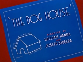 Screenshots from the 1952 MGM cartoon The Dog House