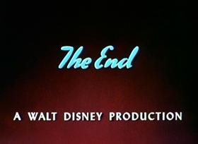 Screenshots from the 1952 Disney cartoon Lambert the Sheepish Lion