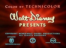 Screenshots from the 1952 Disney cartoon The Little House