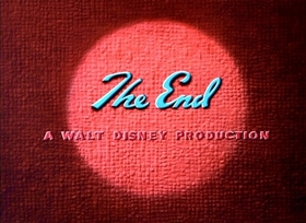 Screenshots from the 1952 Disney cartoon Pluto