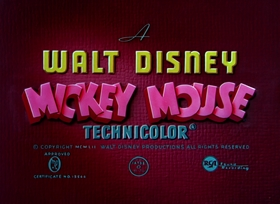 Screenshots from the 1952 Disney cartoon Pluto