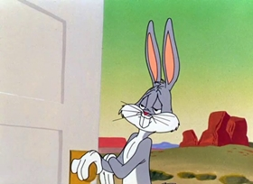 Screenshots from the 1952 Warner Brothers cartoon Operation: Rabbit
