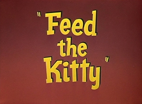 Screenshots from the 1952 Warner Brothers cartoon Feed the Kitty