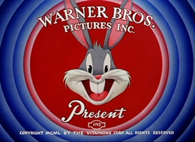 Screenshots from the 1952 Warner Brothers cartoon Foxy by Proxy