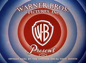 Screenshots from the 1952 Warner Brothers cartoon Water, Water Every Hare