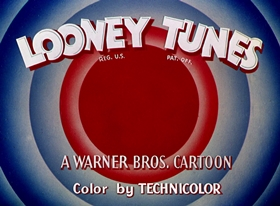 Screenshots from the 1952 Warner Brothers cartoon The Hasty Hare