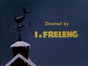 Screenshots from the 1952 Warner Bros. cartoon Cracked Quack