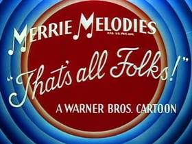 Screenshots from the 1952 Warner Bros. cartoon Terrier Stricken