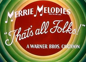 Screenshots from the 1953 Warner Brothers cartoon Duck Amuck