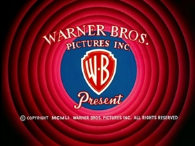 Screenshots from the 1953 Warner Brothers cartoon A Peck O