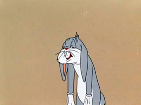 Screenshots from the 1953 Warner Brothers cartoon Southern Fried Rabbit