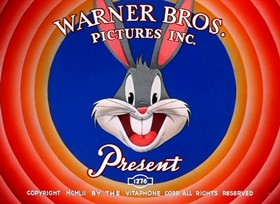 Screenshots from the 1953 Warner Brothers cartoon Duck! Rabbit! Duck!