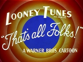 Screenshots from the 1953 Warner Brothers cartoon Robot Rabbit