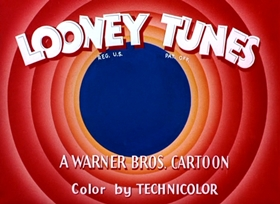 Screenshots from the 1953 Warner Brothers cartoon Lumber Jack-Rabbit