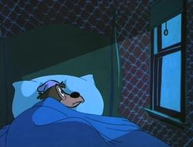 Screenshots from the 1954 MGM cartoon Billy Boy