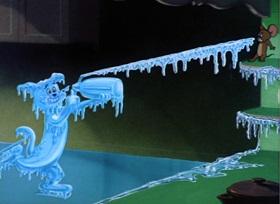 Screenshots from the 1954 MGM cartoon Mice Follies