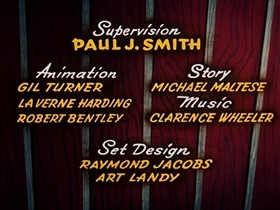 Screenshots from the 1954 Walter Lantz cartoon A Horse