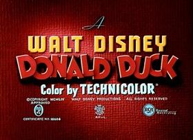 Screenshots from the 1954 Disney cartoon Dragon Around