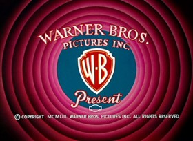 Screenshots from the 1954 Warner Brothers cartoon Dog Pounded