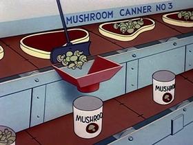 Screenshots from the 1954 Warner Bros. cartoon I Gopher You