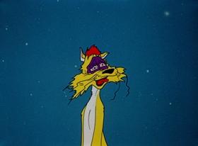 Screenshots from the 1954 Warner Brothers cartoon Feline Frame-Up