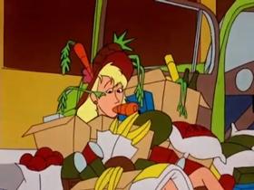 Screenshots from the 1954 Warner Brothers cartoon Wild Wife
